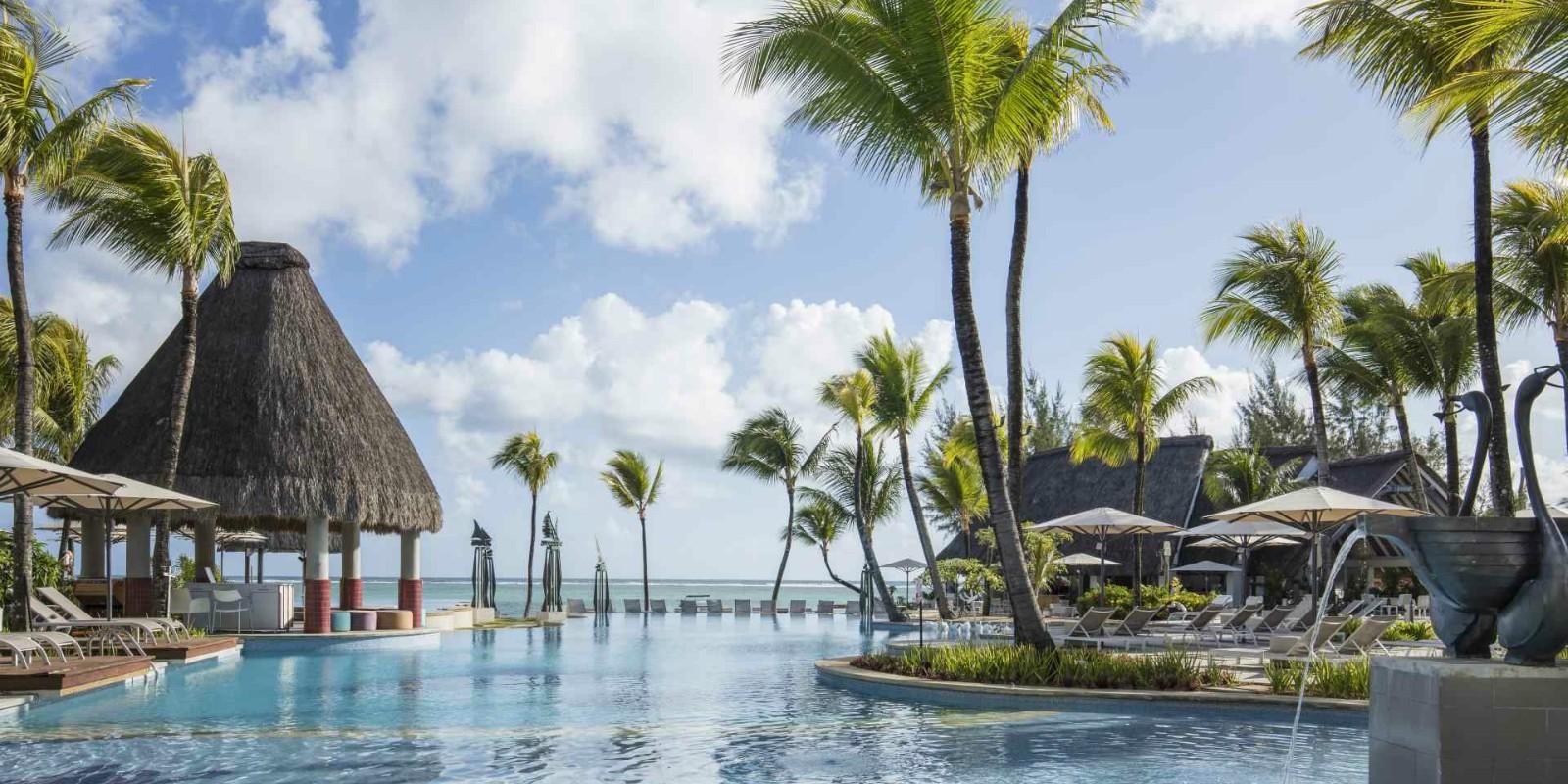 Ambre resort Mauritius Pool