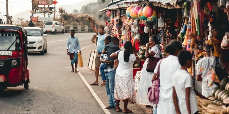 Sri Lankan street
