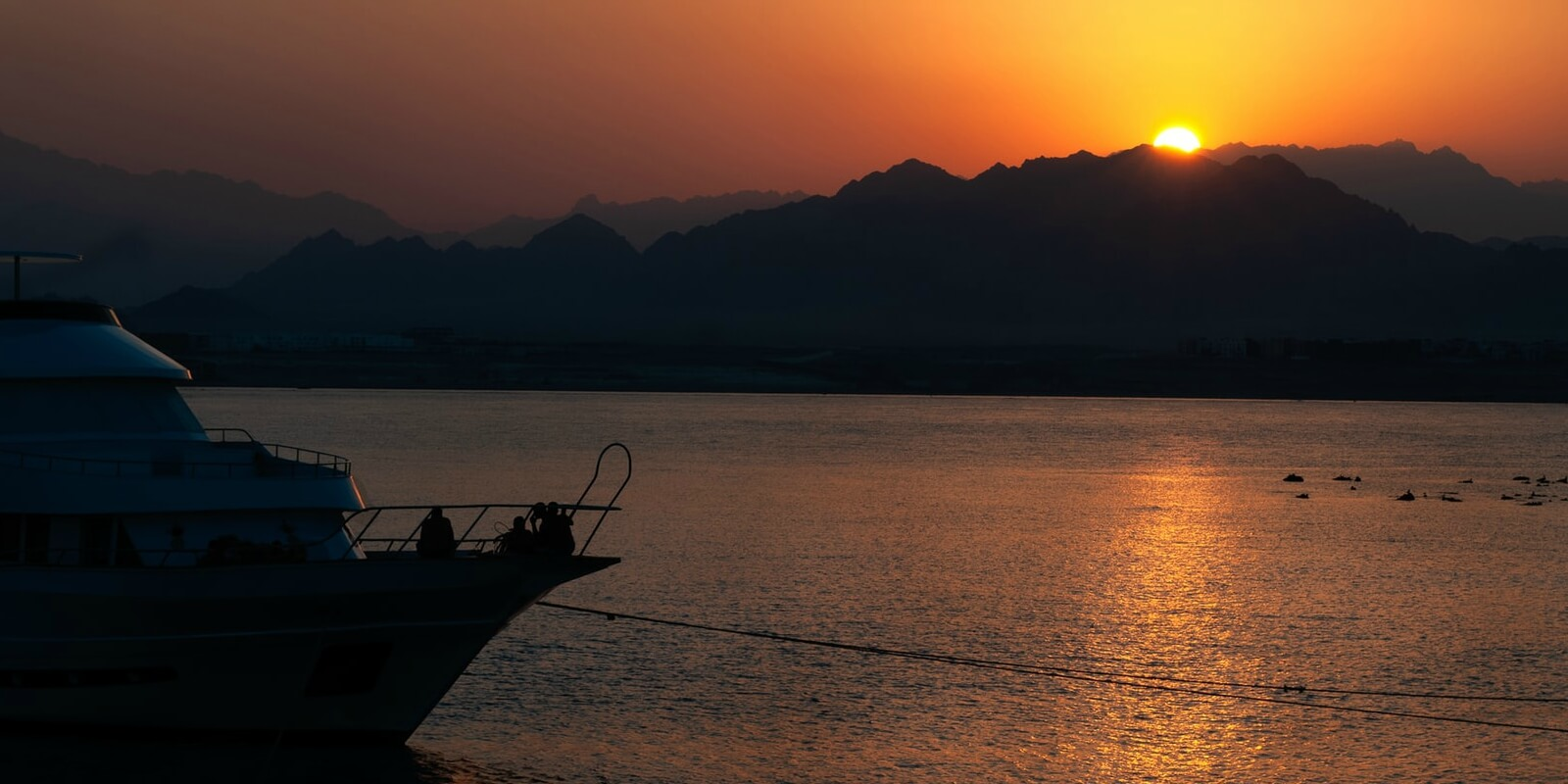 Enjoy the sunset from a Red Sea Resort
