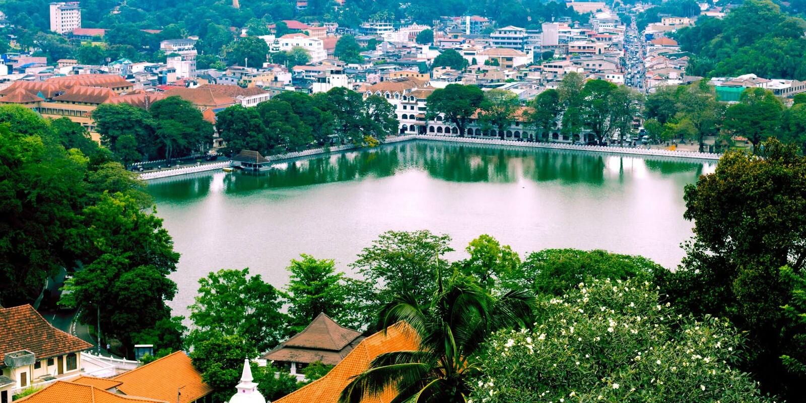 Beautiful Sri Lankan backdrop