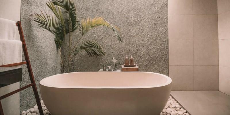 Stylish interior bath