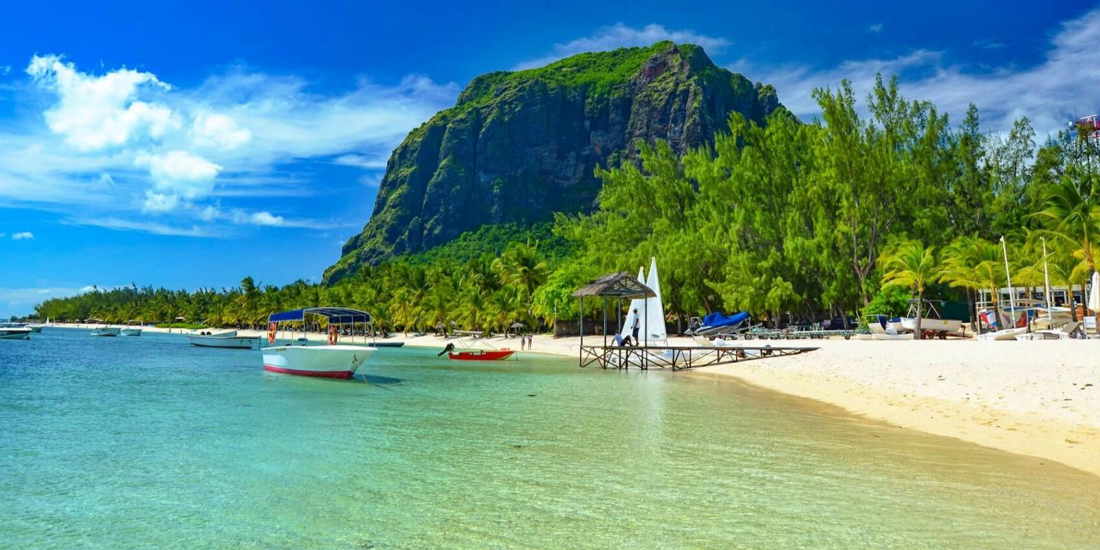Stunning Mauritius beach