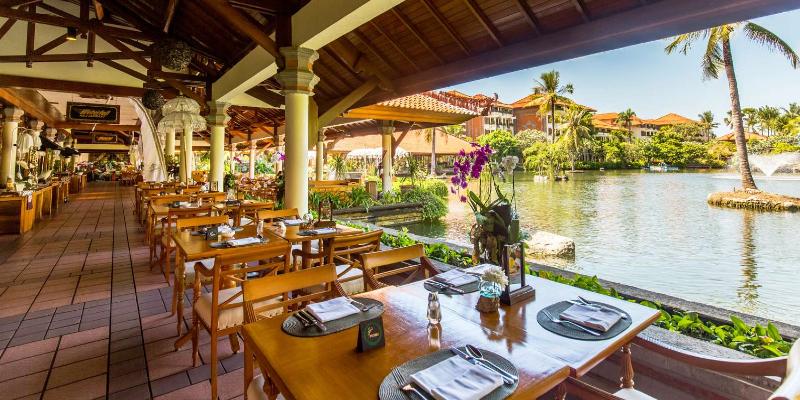 Waterfall Restaurant at Ayodya Resort