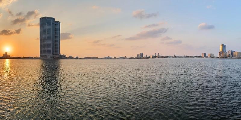 Ras al Khaimah in the Arabian Gulf