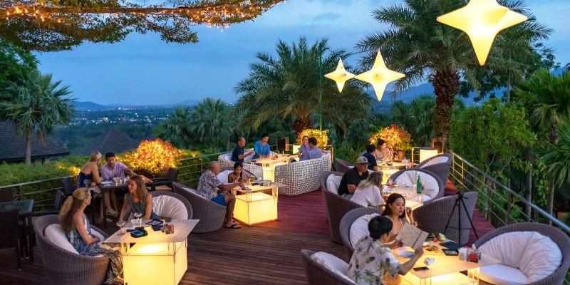 Shot from sunset at 360° Bar, Phuket
