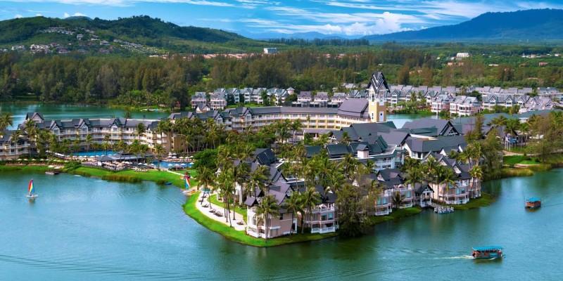 Exterior Angsana Laguna Phuket resort, Thailand