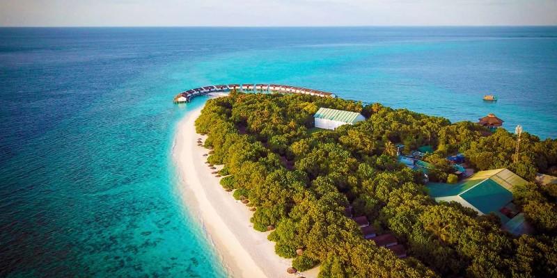The Reethi Beach Resort atoll