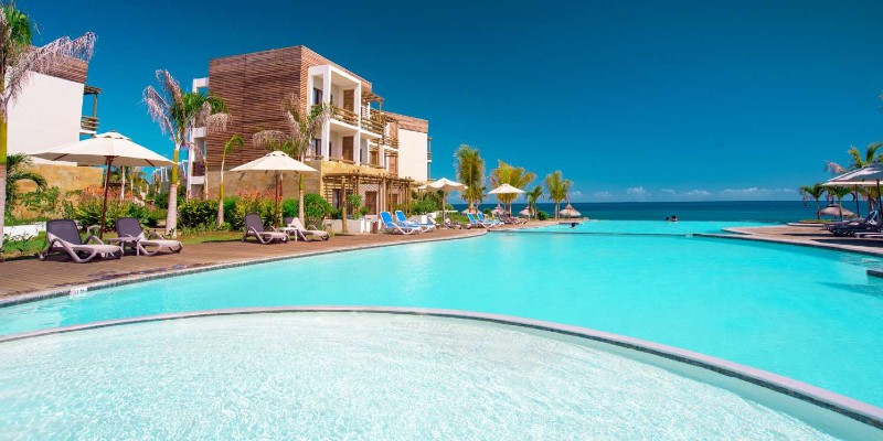 Poolside shot at Anelia Resort & Spa