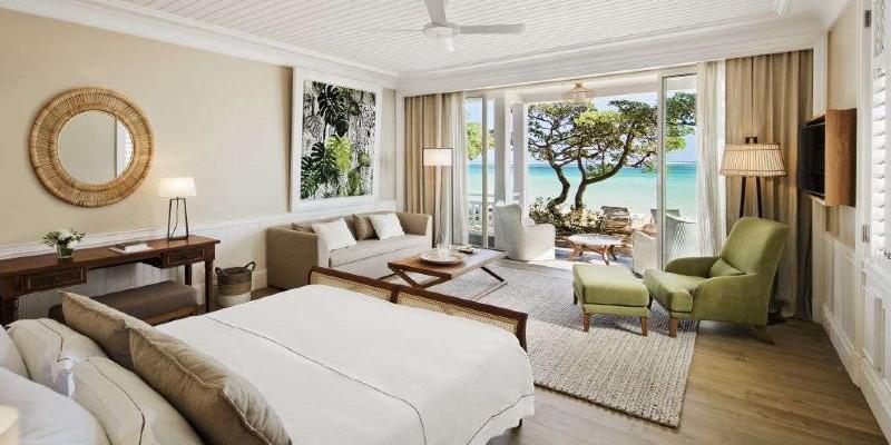 Room interior at Heritage Le Telfair Golf & Spa Resort
