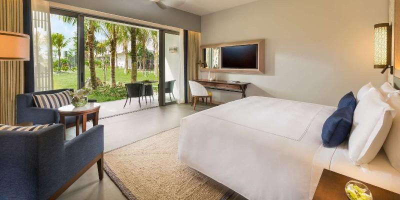 Room interior at Anantara Iko Mauritius Resort & Villas