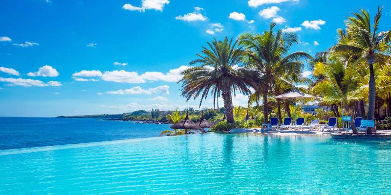 The Resort's Infinity Pool