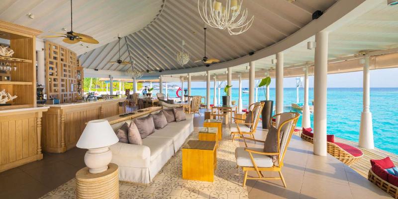 Aqua Bar interior