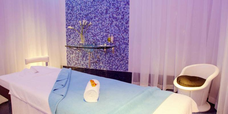 the Calm Spa at JA Ocean View Hotel, Dubai