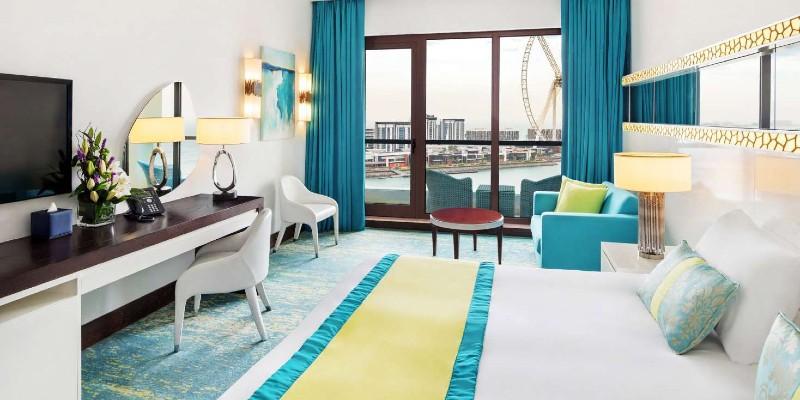 A Superior Sea View Room in JA Ocean, Dubai