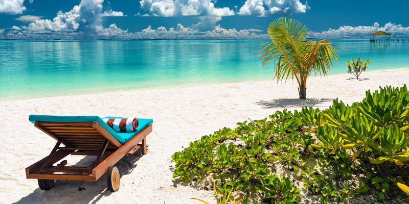 beach at South Palm Resort