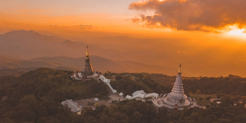 Doi Inthanon National Park in Ban Luang