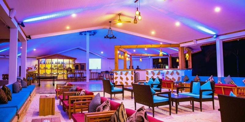A bar at South Palm Resort, Maldives