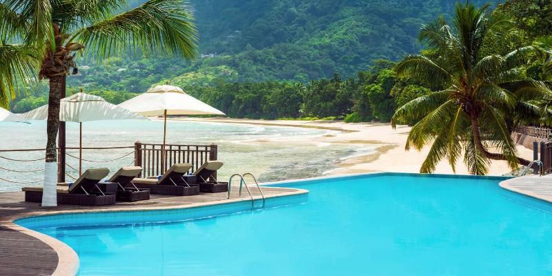 Poolside at Fisherman's Cove Resort