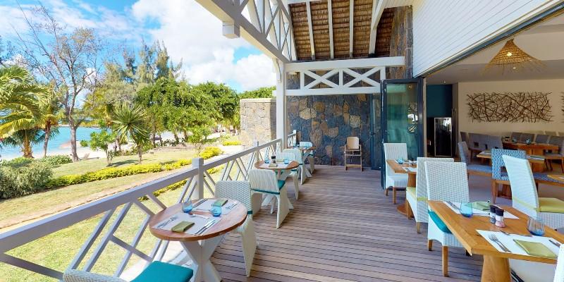 Le Comptoir restaurant in Mauritius