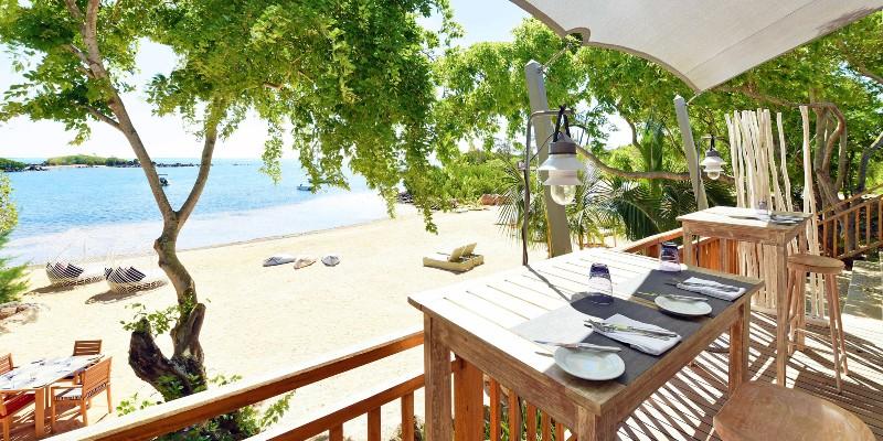 Ocean One Beach restaurant in Mauritius