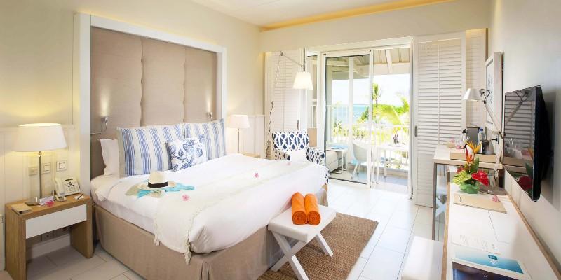 Inside a Premium Ocean View Room at Radisson Blu Azuri resort