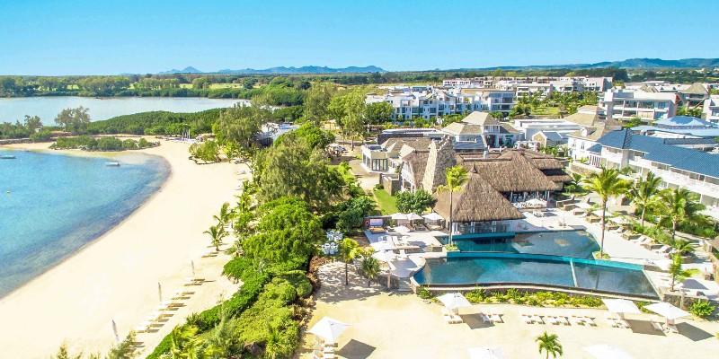 beachfront location of Radisson Blu Azuri Resort & Spa