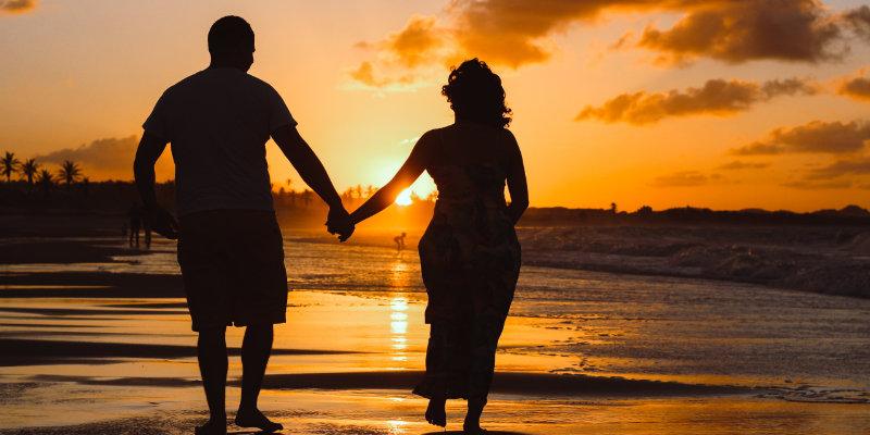 Enjoy a romantic stroll along the sands