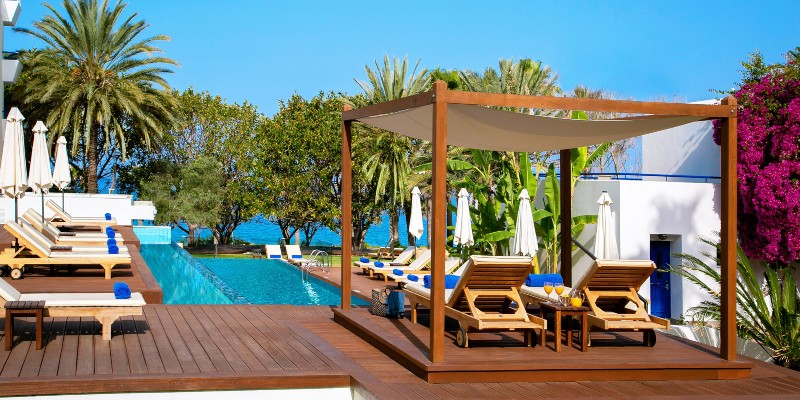Cabana's at Azia Resort & Spa in Cyprus
