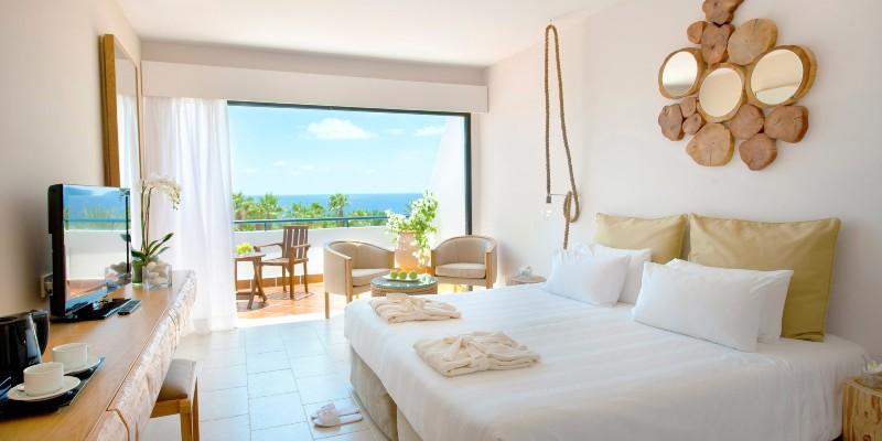 Sea view room in Azia Resort & Spa, Cyprus