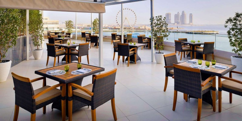 Let the city be your backdrop as you dine