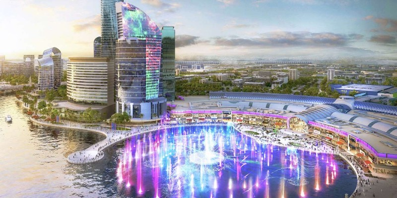 Be mesmerised by the IMAGINE show at Dubai Festival City Mall