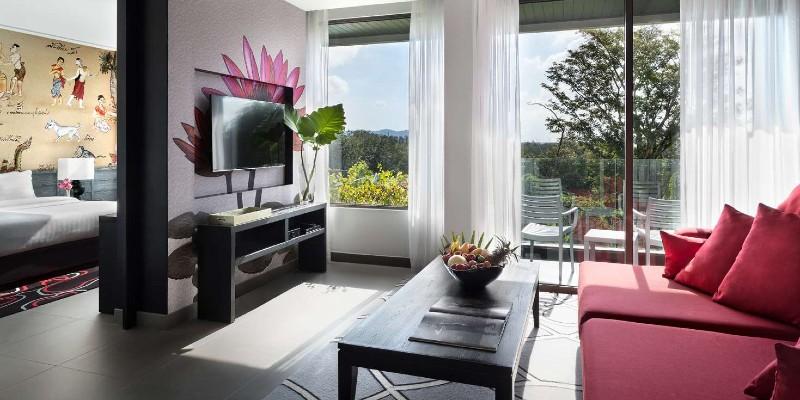 Modern and light living area