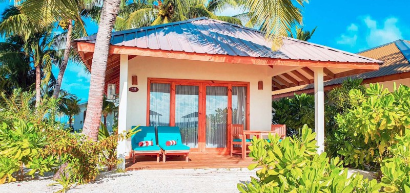 Ocean Front Beach Villa in a stunning setting