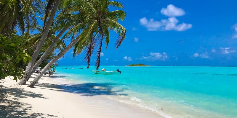 A Maldives Beach
