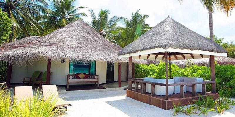 A lagoon prestige beachfront villa
