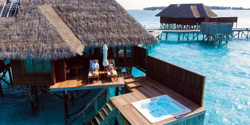 The Maldives Water Villa