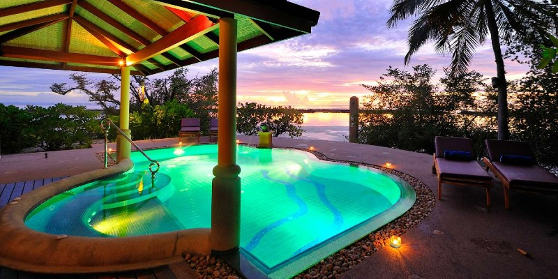Amazing pool at the Presidential Suite